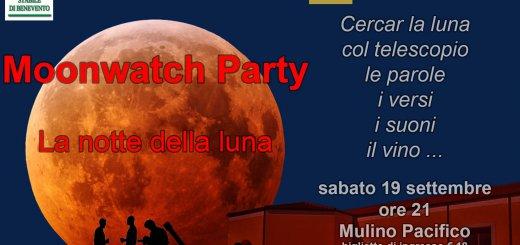 Moonwatch party - La notte della Luna - Benevento