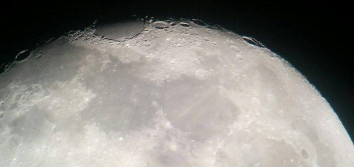 La Luna al telescopio - Gruppo Astrofili Beneventani