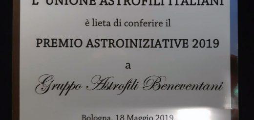 premio astroiniziative 2019 al gab